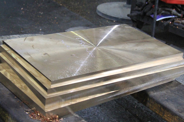Beryllium Copper Plate Production