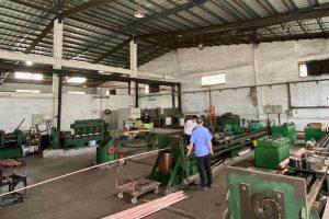 China beryllium copper production workshop