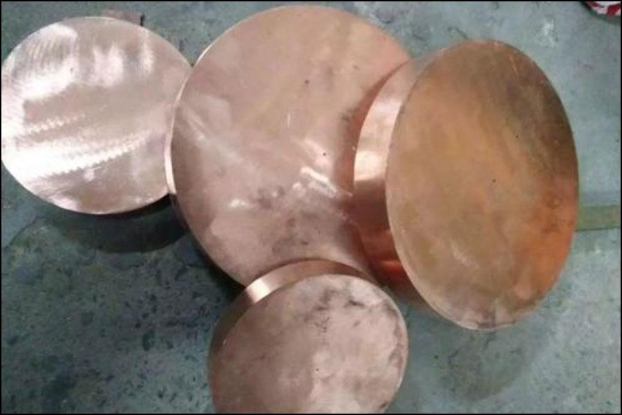 Beryllium Copper Disk