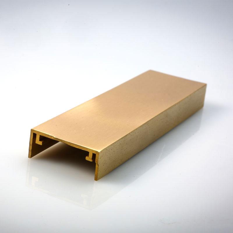 Copper Window Brass Profile YH-0004 (1)