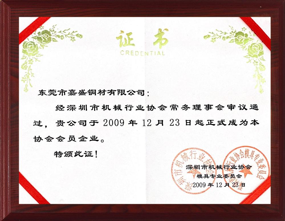Honor Certificate (11)