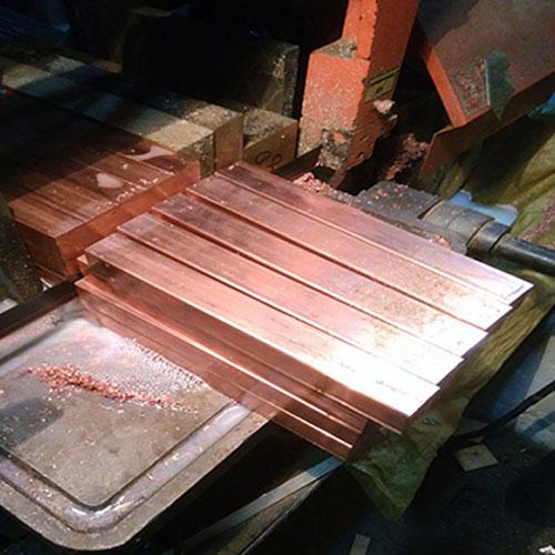 Rhodium Plated C17500 Beryllium Bronze Plate (1)