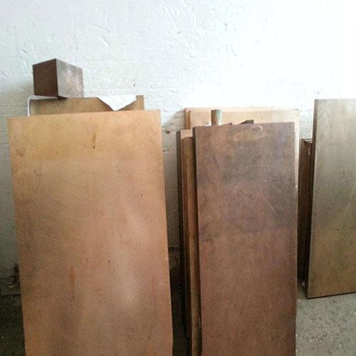 silver plated beryllium copper plate (3)